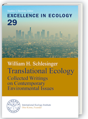 Excellence in Ecology 29